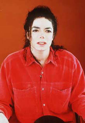 Michael Jackson in his 1993 video statement denying child molestation charges. (AP) / SF