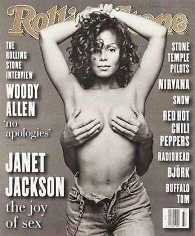 Janet Jackson, 1993. (Rolling Stone) / SF