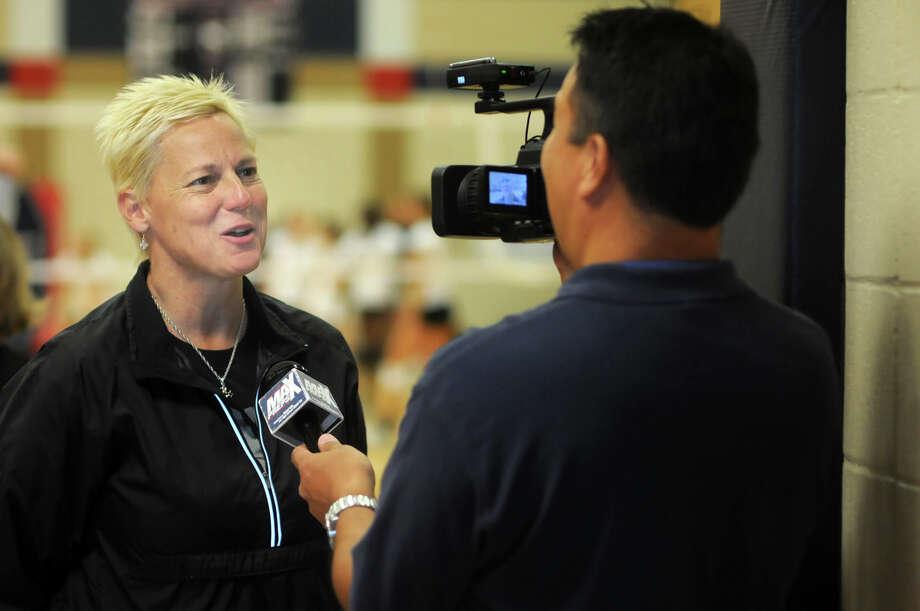 Magnolia head coach Terri Johnson Photo: Jerry Baker / Freelance