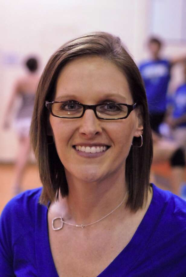Katy Taylor volleyball head coach Brooke Plemons Photo: Tony Bullard / Credit: for the Chronicle