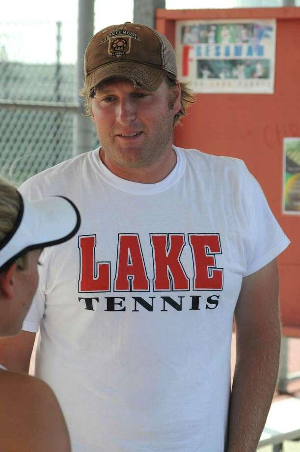 Clear Lake assistant tennis coach Jarrett Smith Photo: L. Scott Hainline / freelance