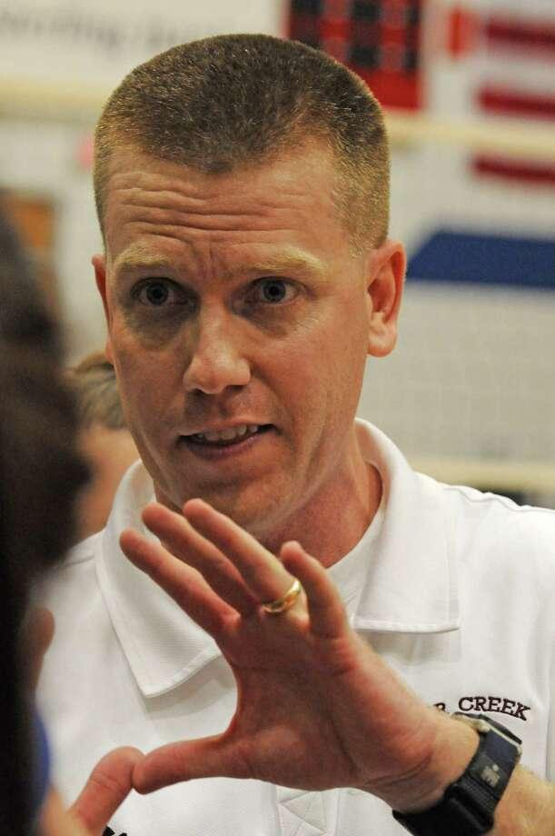 Clear Creek volleyball coach Scott Simonds Photo: L. Scott Hainline / The Chronicle