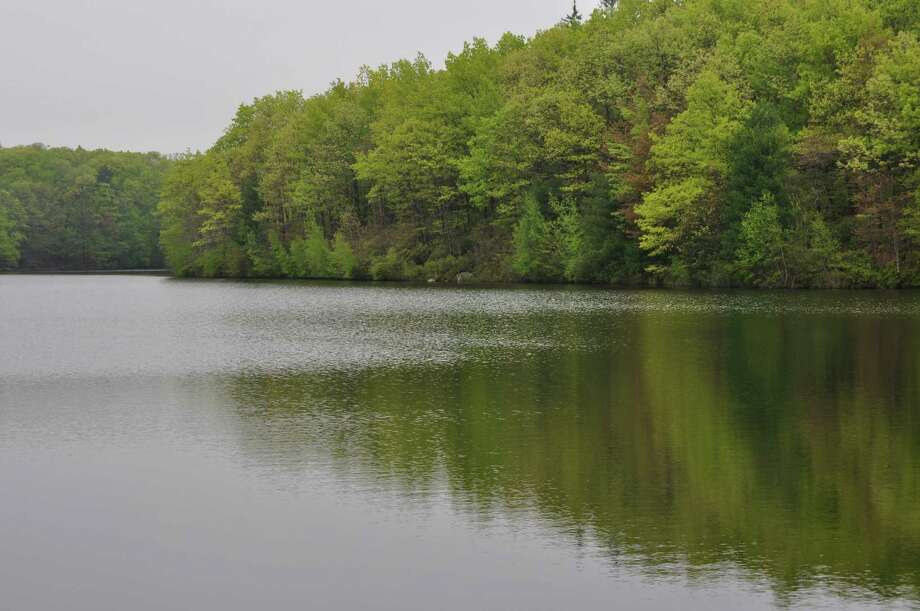 To mark the completion of the Five Mile River Watershed Plan, a signing ceremony will be held Aug. 2, 2012, at 1 p.m., on the West Campus of Norwalk Community College. Above, the New Canaan Reservoir. Photo: Contributed Photo