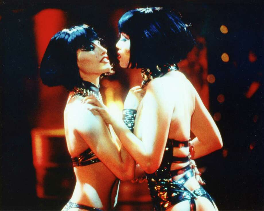 """PHOTOS: The worst movies of the 1990sElizabeth Berkley and Gina Gershon starred in 1995's """"Showgirls,"""" a movie so unintentionally awful that it's actually kind of good.See more of the worst movies of the '90s ... Photo: QFest Photo"""