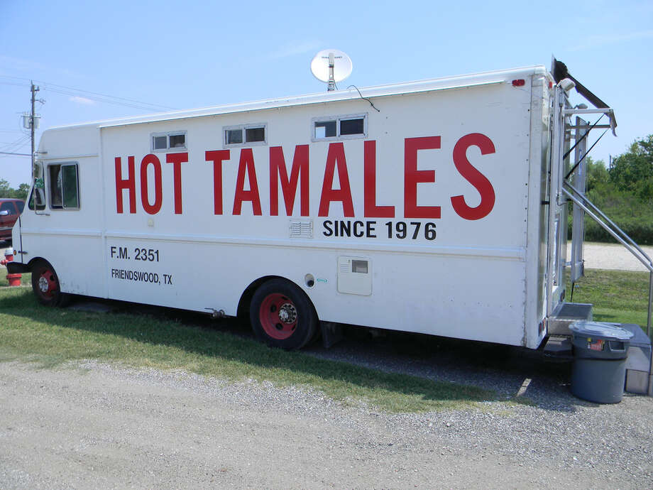 The Tamale Man truck has been a staple on FM 2351 in Friendswood for more than 35 years. People from out of town have been known to drive to Friendswood for these tamales. They're that good. Photo: Paul Galvani