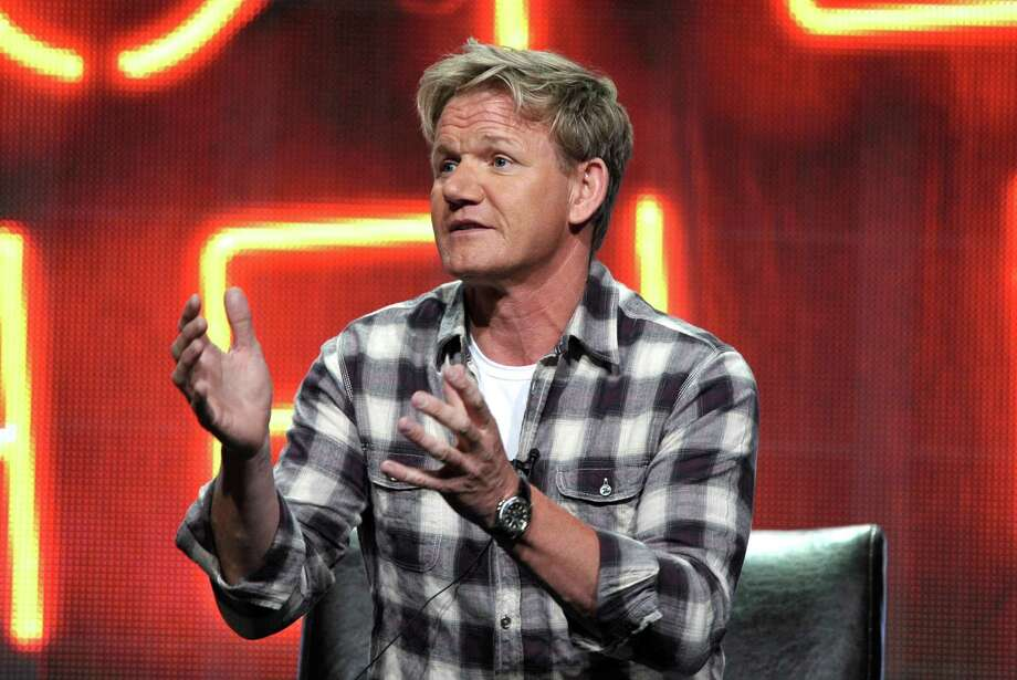 Hell's Kitchen: Why someone hasn't spit in Chef Gordon Ramsay's entree yet is beyond us. Photo: John Shearer / Invision