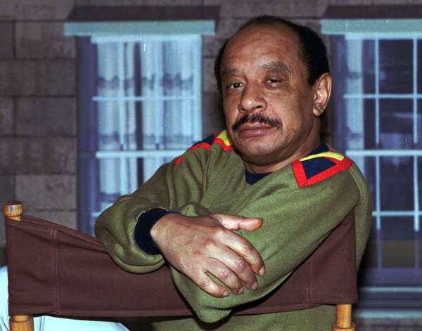"In this Aug. 11, 1986 file photo, actor Sherman Hemsley poses for a photo in Los Angeles. Hemsley, the actor who made the irascible, bigoted George Jefferson of ""The Jeffersons"" one of television's most memorable characters and a symbol for urban upward mobility, was found dead Tuesday, July 24, 2012 at his El Paso, Texas home. He was 74. (AP photo/Nick Ut, File) Photo: Associated Press"