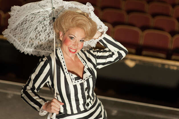 "Katy Moore plays the title role in the Playhouse staging of ""Hello, Dolly!"" Courtesy Dwayne Green"