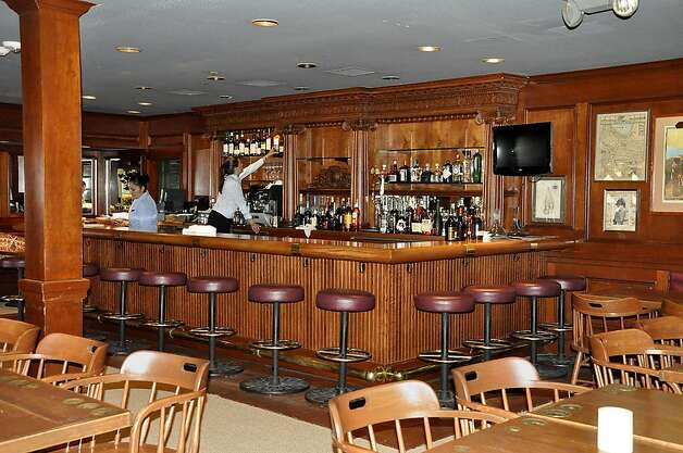 The bar area was refurbished, but the bar itself was untouched. Photo: Christine Delsol, Special To SFGate