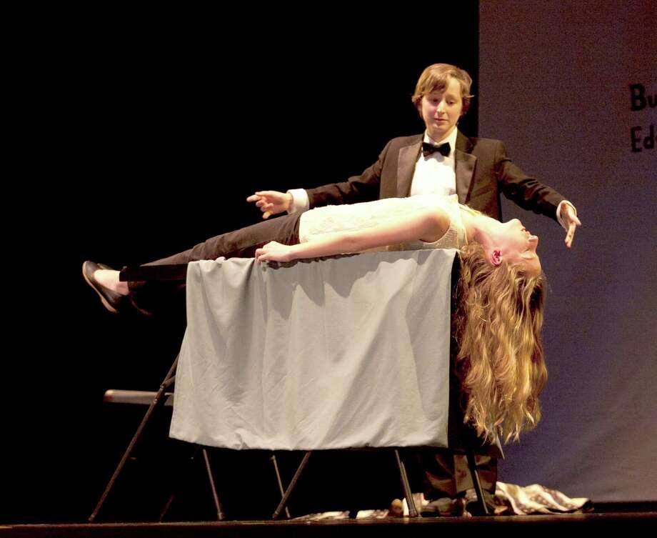 Teen magician