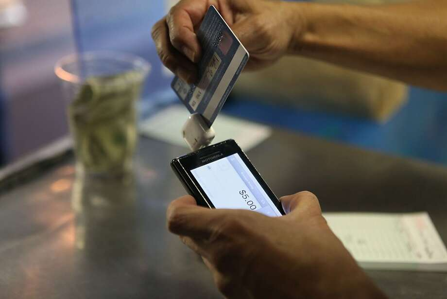 San Francisco's Square is getting strong competition in the mobile-payments market from the likes of Google, Intuit and PayPal. Photo: Audrey Whitmeyer-Weathers