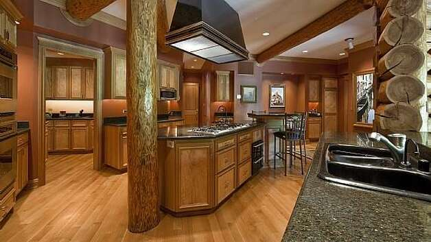 Kitchen of a Snoqualmie home set for sale at auction on Aug. 9. Photo: J. P. King Auction Co.