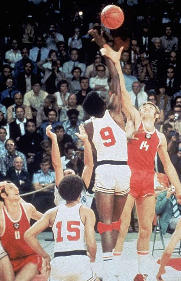 During the 1972 Olympics, the USA basketball team lost to Russia 51-50 -- after Russia was given extra time for a final shot. It was the first Olympic loss in USA Basketball history, and served as an illustration of tension between the countries.  Photo: Getty Images / 1972 Getty Images