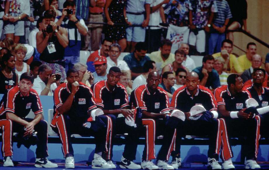 "Remember the USA basketball ""dream team"" of 1992? It was supposedly the greatest sports team ever assembled, including stars such as Michael Jordan, Magic Johnson, Larry Bird and Charles Barkley.  Photo: Mike Powell, Getty Images / Getty Images North America"