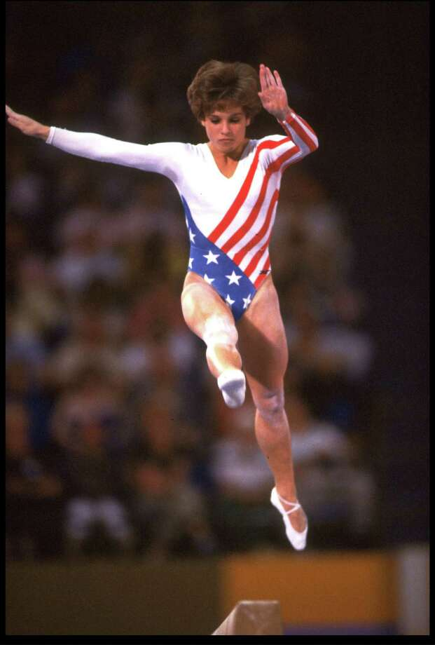 Mary Lou Retton was an unknown at the start of the 1984 Olympics, but she ended up winning the all-around gold after earning perfect 10s for the floor and vault competitions.  Retton was just 16 at the time. Photo: Steve Powell, Getty Images / Getty Images North America