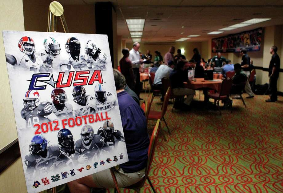 Conference usa media day houston chronicle - Football conference south league table ...
