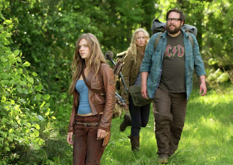 "NBC's new fall sci-fi drama ""Revolution"" stars Tracy Spiridakos, from left, Anna Lise Phillips and Zak Orth. Photo: NBC / 2012 NBCUniversal Media, LLC"