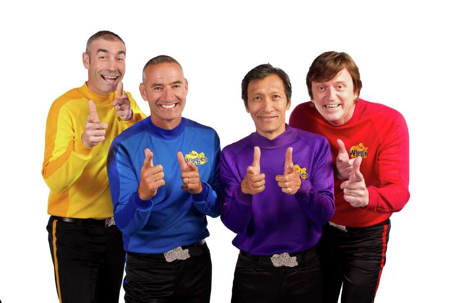 The Wiggles announced that 2012 would be their final year of touring together. Jeff, Murray and Greg will then hand over the purple, red and yellow outfits to a new generation of performers to  take on backstage creative roles. Anthony will continue on stage as the Blue Wiggle alongside Emma Watkins, Lachlan Gillespie, and Simon Pryce, who have been handpicked by the group to become the Yellow, Purple, and Red Wiggles. Photo: -- / © 2012 The Wiggles Pty. Ltd.