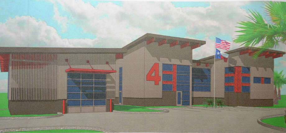 Artist rendering of Sabine Pass' new fire station. Photo taken Thursday, July 19, 2012 Guiseppe Barranco/The Enterprise Photo: Guiseppe Barranco, STAFF PHOTOGRAPHER / The Beaumont Enterprise