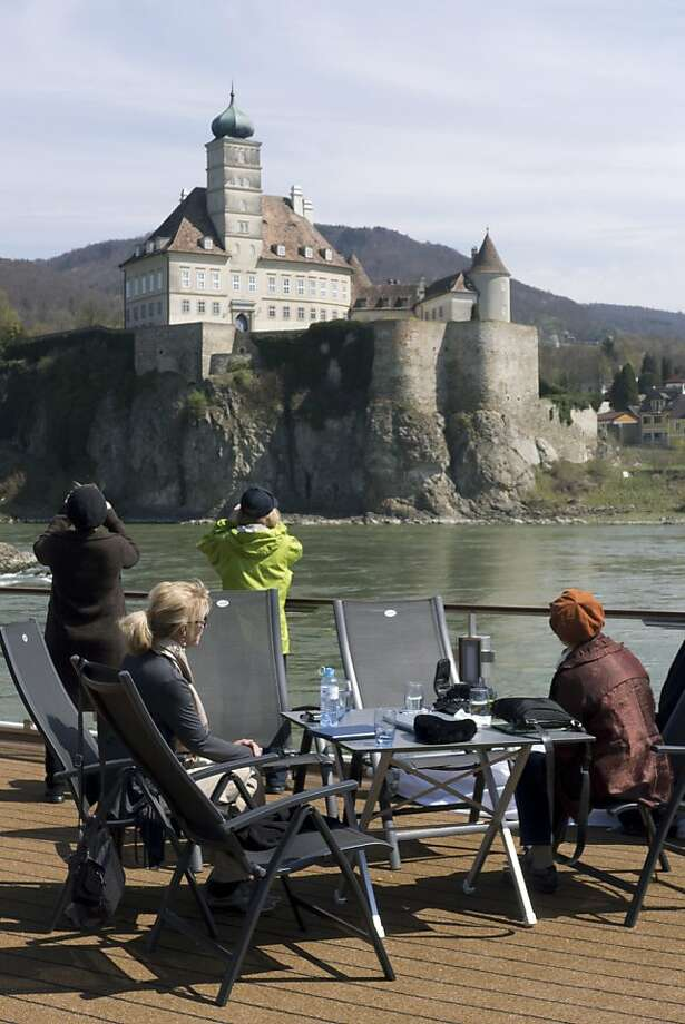 Watching the Wachau Valley from top deck. Photo: John Flinn, Special To The Chronicle