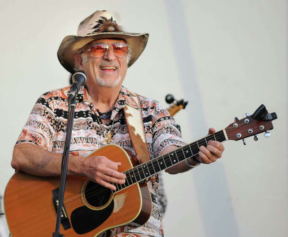 Nick DeMaio Sr. sings and plays guitar for Gunsmoke, a classic country-western swing-rockabilly band out of Darien, at Roger Sherman Baldwin Park in Greenwich, Wednesday, July 25, 2012. Photo: Bob Luckey / Greenwich Time