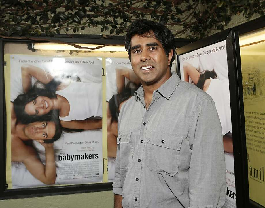 "Director Jay Chandrasekhar at a screening of ""The Babymakers"" Los Angeles. He says he isn't sure if he has ""another beer joke"" in him. Photo: Todd Williamson, Associated Press"