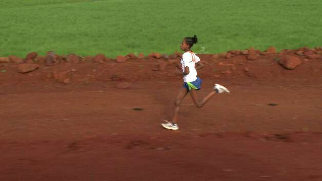 "Hawii is one of the young people featured in ""Town of Runners,"" a new documentary about the rural Ethiopian village of Bekoji, whose runners have won 8 Olympic Gold medals, 32 World Championships and broken 10 world records in the last 20 years. Hawii hopes to be as successful as her sister, who runs in the United States. Photo: Courtesy Of Dogwoof / HC"