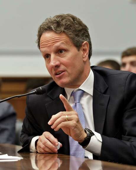"""Timothy Geithner: """"I felt that we did the important and fully appropriate thing."""" Photo: J. Scott Applewhite / AP"""