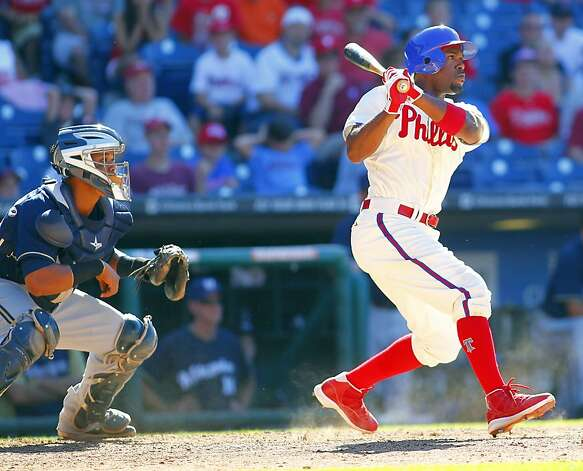 Phillies shortstop Jimmy Rollins was a grad of Encinal High School in Alameda and even appeared in several MC Hammer videos in the late 80s. Photo: Rich Schultz, Getty Images