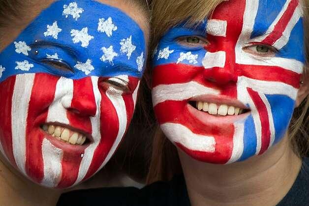 American Footba... American Football Fans Painted