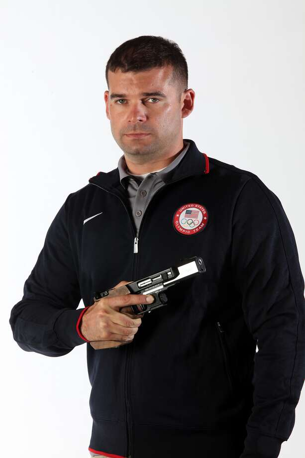 Keith Sanderson of San Antonio is America's best medal hope in 25-meter rapid fire pistol. Photo: Courtesy Photo