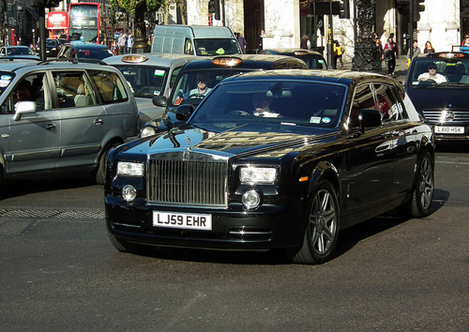 Rolls-Royce Phanton: 11 city, 18 highway, 14 combined. To drive 25 miles, it would cost $6.28.(Photo: kenjonbro , Flickr)