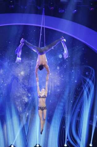 AMERICA'S GOT TALENT -- Episode 716 -- Pictured: Donovan and Becky -- (Photo by: Virginia Sherwood/NBC) (NBC / Virginia Sherwood/NBC)