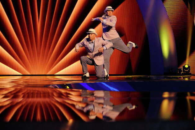 AMERICA'S GOT TALENT -- Episode 714 -- Pictured: The Scott Brothers -- (Photo by: Virginia Sherwood/NBC) Photo: NBC, Virginia Sherwood/NBC / 2012 NBCUniversal Media, LLC..