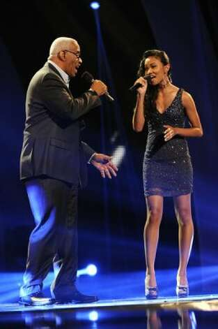 AMERICA'S GOT TALENT -- Episode 714 -- Pictured: Shanice and Maurice Hayes -- (Photo by: Virginia Sherwood/NBC) (NBC / Virginia Sherwood/NBC)