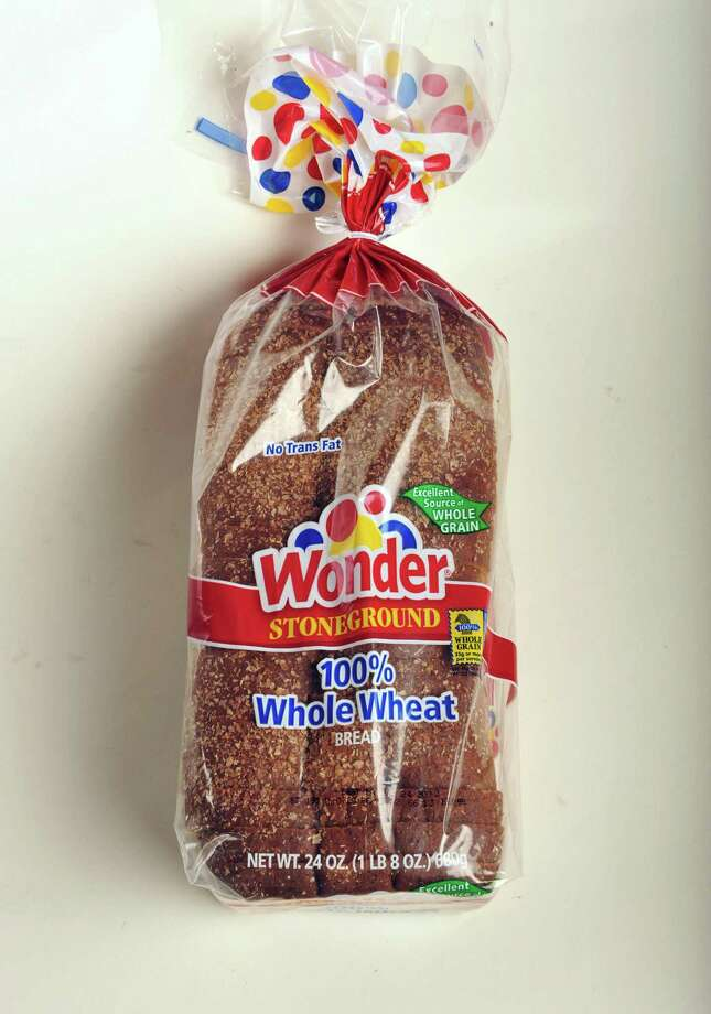 Wonder whole wheat bread in the TU photo studio Wednesday July 18, 2012.   (John Carl D'Annibale / Times Union) Photo: John Carl D'Annibale, Albany Times Union / 00018500A