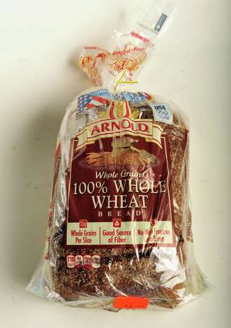 Arnold whole wheat bread in the TU photo studio Wednesday July 18, 2012.   (John Carl D'Annibale / Times Union) Photo: John Carl D'Annibale, Albany Times Union / 00018500A
