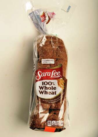 Sara Lee whole wheat bread in the TU photo studio Wednesday July 18, 2012.   (John Carl D'Annibale / Times Union) Photo: John Carl D'Annibale, Albany Times Union / 00018500A