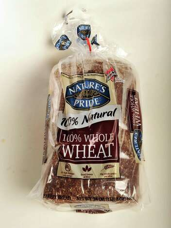 Nature's Pride whole wheat bread in the TU photo studio Wednesday July 18, 2012.   (John Carl D'Annibale / Times Union) Photo: John Carl D'Annibale, Albany Times Union / 00018500A