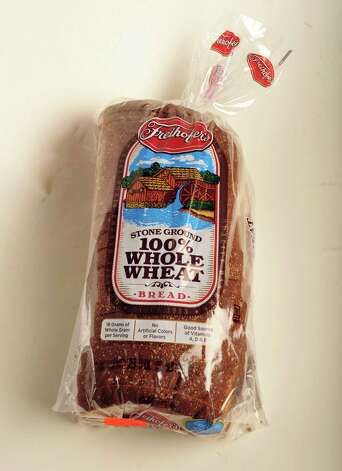 Freihofer whole wheat bread in the TU photo studio Wednesday July 18, 2012.   (John Carl D'Annibale / Times Union) Photo: John Carl D'Annibale, Albany Times Union / 00018500A