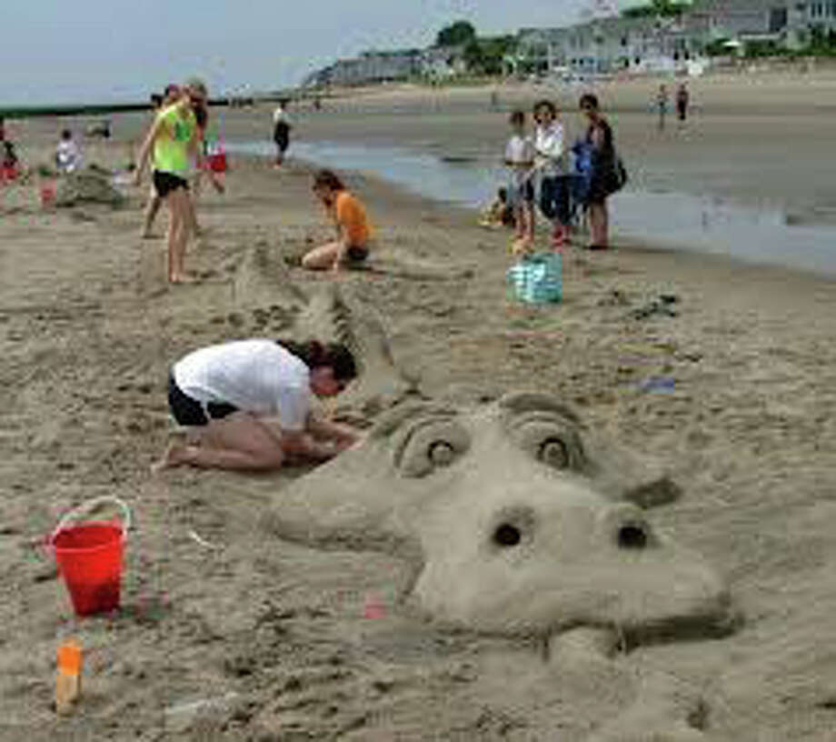 Le your creative juices flow Saturday at the Police Athletic League's annual Sand Sculpture Contest at Penfield Beach. Photo: File Photo / Fairfield Citizen