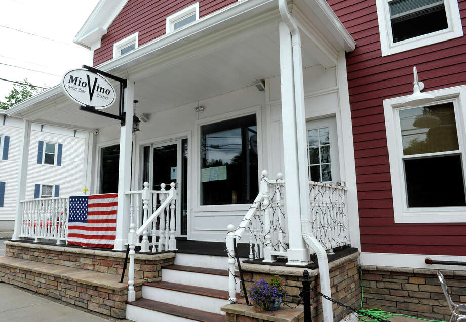 Exterior of Mio Vino Wine Bar and Bistro in Altamont, N.Y. (Lori Van Buren / Times Union) Photo: Lori Van Buren