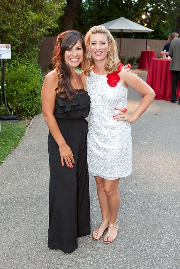 Event co-chairs Lisa Kerns and Kelley Roberts at Sequoia benefit. Photo: Gustavo Fernandez, Gustavo Fernandez Drew Altizer P
