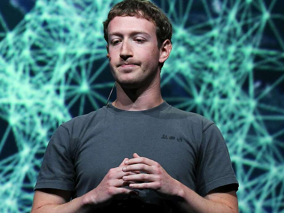 Facebook CEO Mark Zuckerberg is seen at the Facebook f8 conference in San Francisco in a Sept. 22, 2011 file photo. Facebook announced its first earnings report as a public company on July 26, 2012. Photo: Justin Sullivan, Getty Images