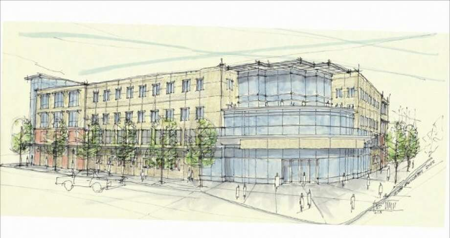 Plan for cinemas at 19 Railroad Place, Saratoga Springs.