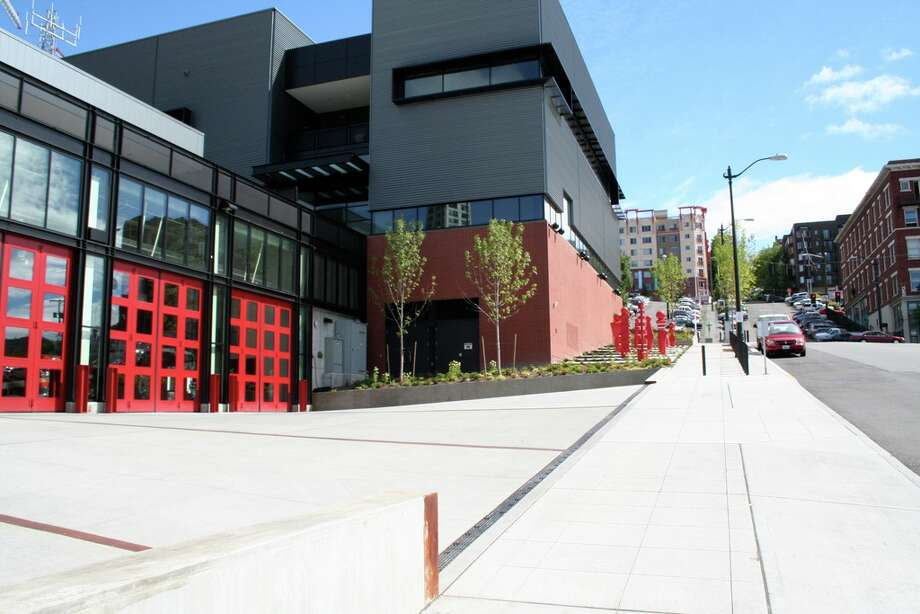 Seattle Fire/Police Department projects: $52.7 million (Pictured here is the new Seattle Fire Station 10 and emergency operations center in downtown).  Bonds will be paid: 2014-2034  Year payments began: 2000-2009 Source: Seattle City Council Photo: City Of Seattle