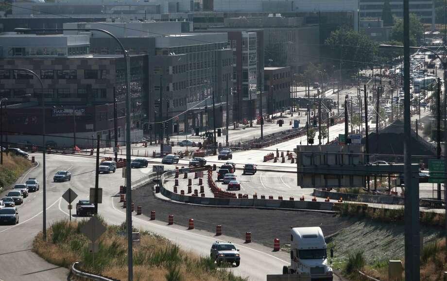 The Mercer Street project photographed on Wednesday, July 25, 2012. Photo: JOSHUA TRUJILLO / SEATTLEPI.COM