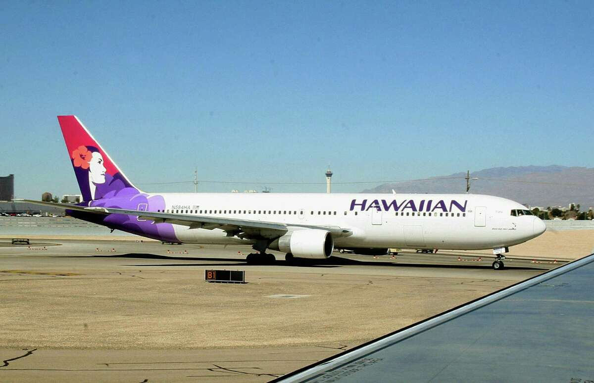 A flight heading to Hawaii from New Zealand took off in 2018 and landed back in 2017.