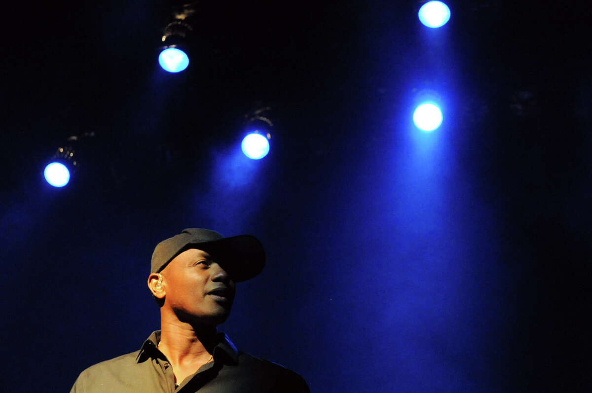 Javier Colon headlines Alive @ Five this week at the Palace Theater, where it was moved due to weather, in Stamford, Conn., July 26, 2012.