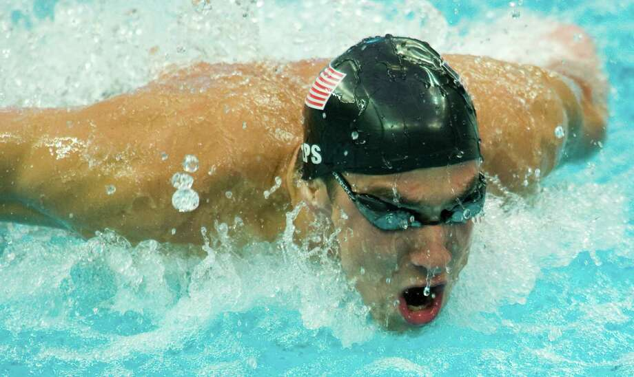 Michael Phelps, who swept his way to eight gold medals at the 2008 Games, may not even be the best swimmer on the U.S. team if Ryan Lochte has anything to say about it. Photo: Smiley N. Pool / Houston Chronicle